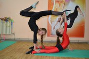 Эстетическая гимнастика в Запорожье при поддержке ВТ